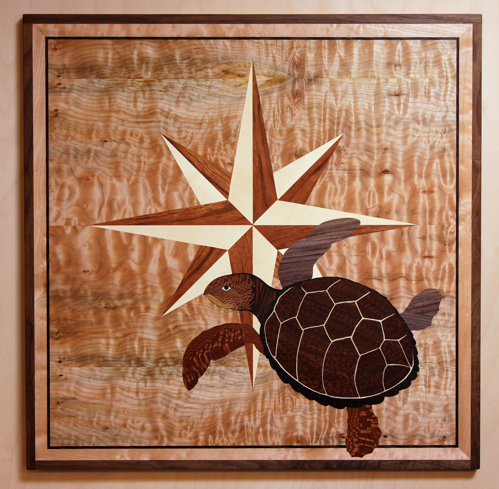 Turtle & Compass Rose